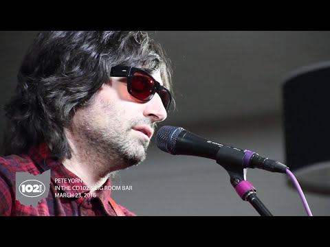 Pete Yorn LIVE in the CD102.5 Big Room Bar
