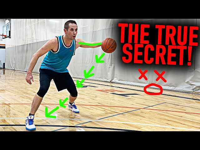 NBA Pro's SECRET Crossover Move: Swing Step Crossover | Basketball Scoring Moves