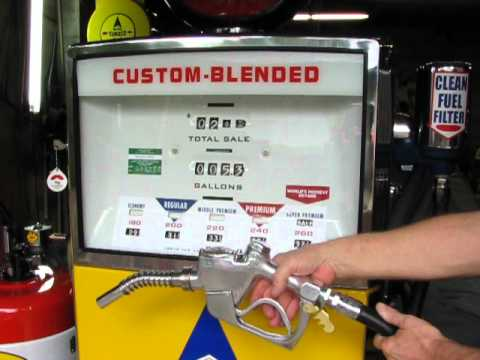 Sunoco Gas Pump Youtube