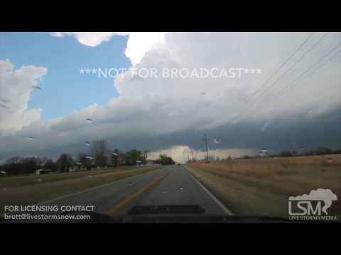 03-09-2017 Oronogo, Missouri - Supercell with Wall Cloud