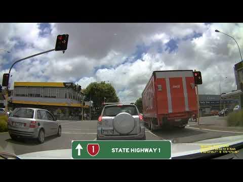 Pauatahanui, Wellington to Albany, Auckland Full Drive via SH1