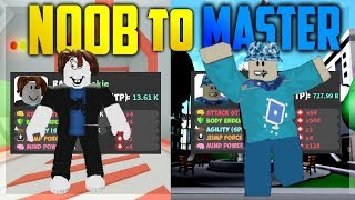 Roblox: REACHING 1 MILLION TOTAL POWER - Noob To Master #3 | SuperHero City