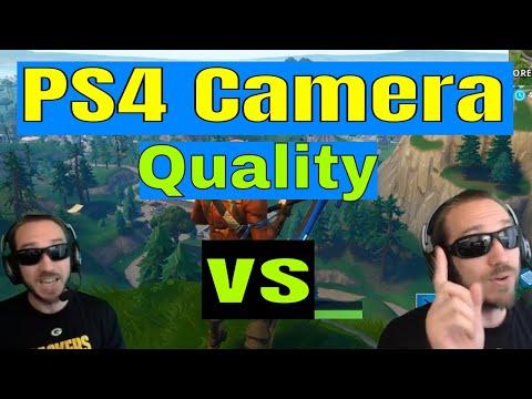 PS4 Camera Quality Test Vs Logitech C920 on PC