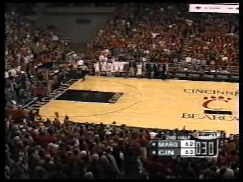 Cincinnati Bearcats vs Marquette Golden Eagles 2002