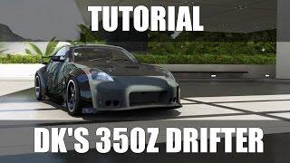 Forza Motorsport 6 - Tutorial DK's 350Z Drifter (Fast'n Furious Tokyo Drift) | PT-BR