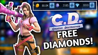 CREATIVE DESTRUCTION: HOW TO GET DIAMONDS FOR FREE