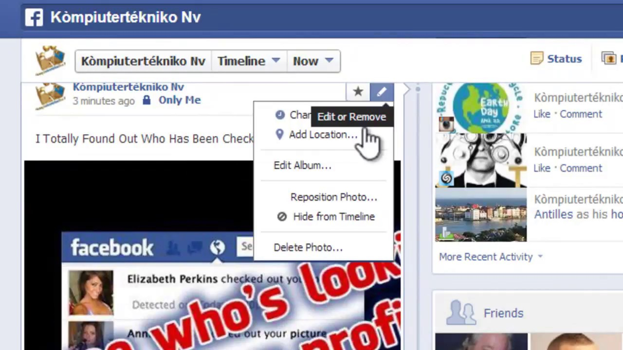 how to remove facebook virus see who s looking at your profile how to remove facebook virus see who s looking at your profile