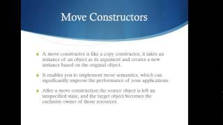 CS341 - Move Semantics
