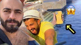 رميت موبيل اكرامي هجرس ف البحر / السبب احمد حسن !! النمر