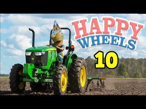 happy wheels 10