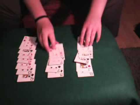 kartentrick 21 karten
