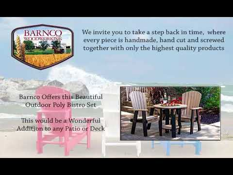 Outdoor Poly Lawn Furniture Cherry Hill NJ - YouTube