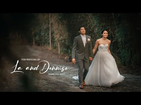 La Revilla And Dennise Lazaro | Tagaytay On Site Wedding Film By Nice Print Photography
