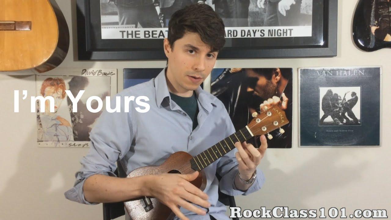 Im yours jason mraz solo ukulele free lesson with tabs youtube hexwebz Gallery