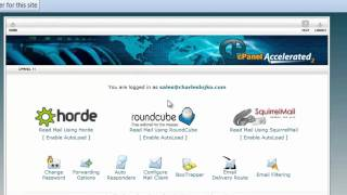 TUTORIAL #1 - How to login to cPanel to create a new email account  - Toronto WordPress Web Design
