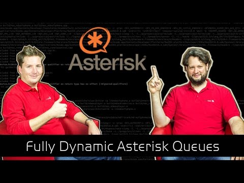 Asterisk Tutorial 27 - Dynamic Queues - The Solution [english]
