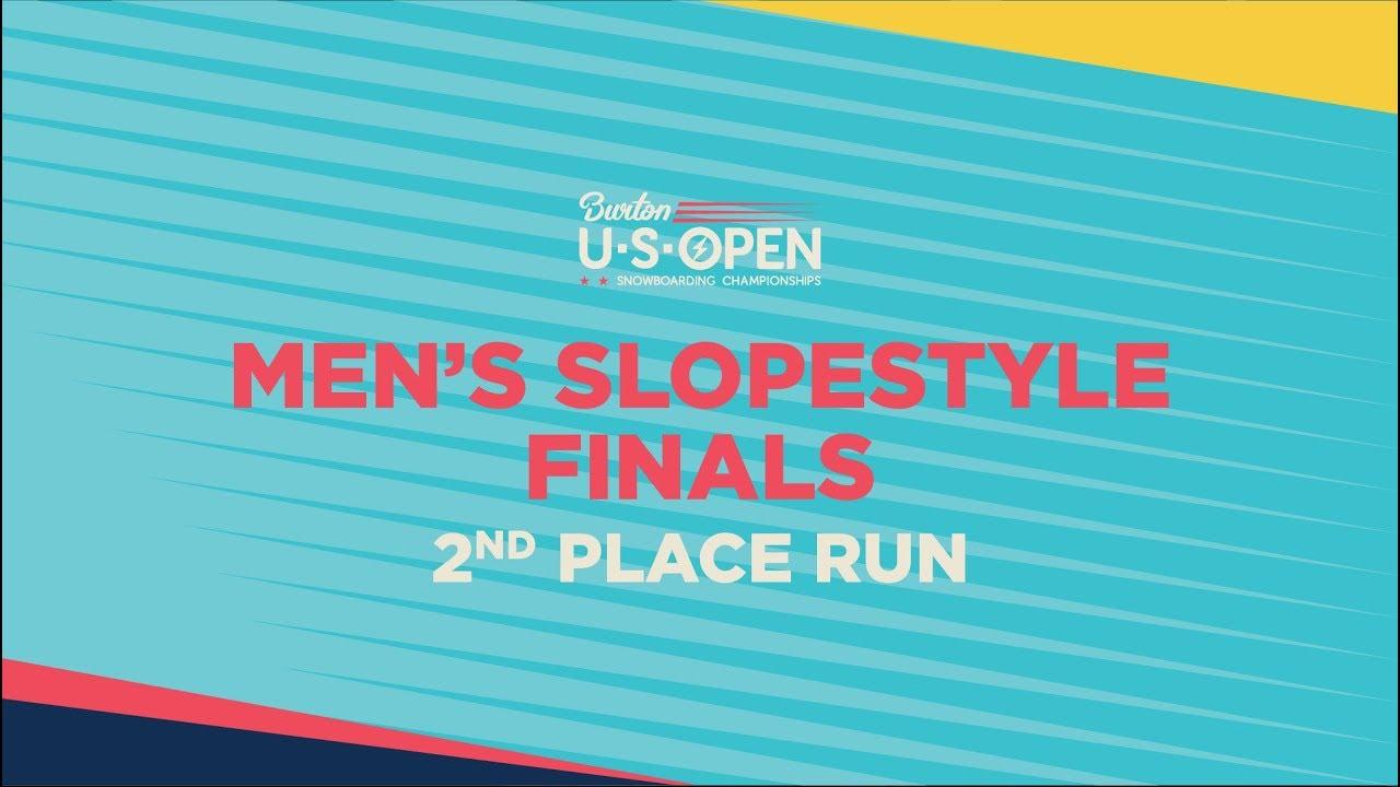 cc4f7d16ab9 2019 Burton U·S·Open Men s Slopestyle Finals – 2nd Place Run - YouTube