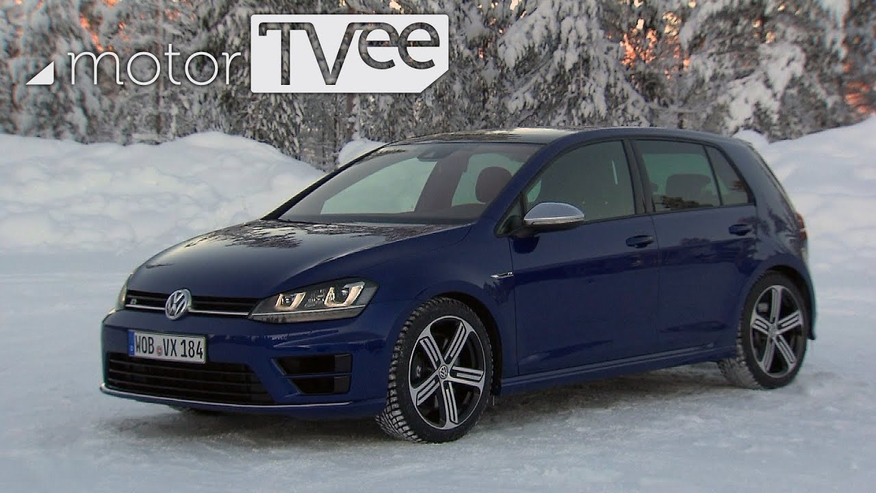 vw golf r dashing through the snow with 4wd motortvee. Black Bedroom Furniture Sets. Home Design Ideas