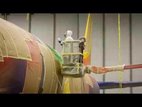 Painting A 737