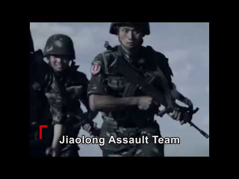 Chinese navy's Jiaolong Assault Team from Operation Red Sea in real life | CCTV English