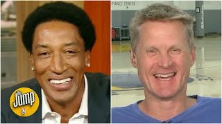 Download Steve Kerr reminisces with Scottie Pippen about their Bulls playoff runs | The Jump | ESPN Mp3 and Videos