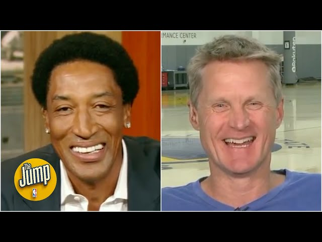 Steve Kerr reminisces with Scottie Pippen about their Bulls playoff runs | The Jump | ESPN