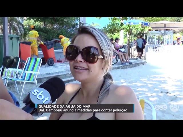 Balneário Camboriú anuncia medidas para conter a poluição