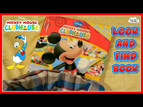 Disney MICKEY MOUSE CLUBHOUSE Kid's Look & Find Book Review