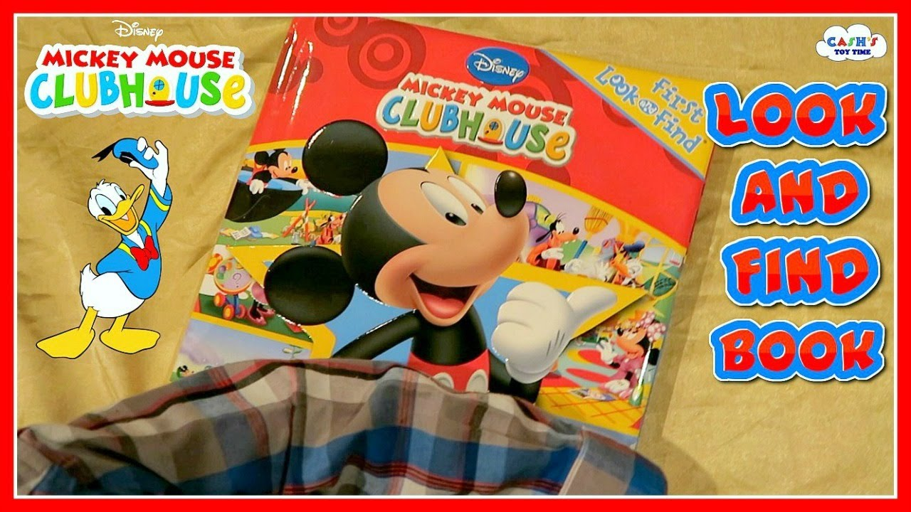 Disney Mickey Mouse Clubhouse Kid S Look Find Book Review Youtube