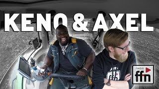 Axel trifft Keno, den Mr. T von der Waterkant und pflügt mit ihm zu...