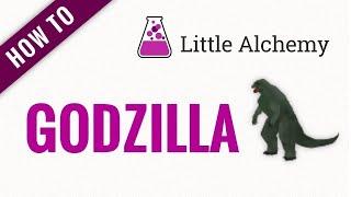 How to make GODΖILLA in Little Alchemy