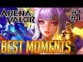 aov best moments 1 by conqueror shurko arena of valor rov liên quân mobile 펜타스톰