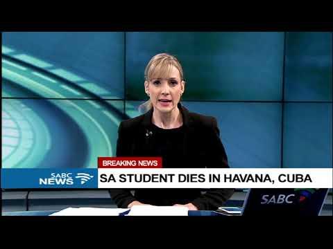 SA student dies in Havana, Cuba
