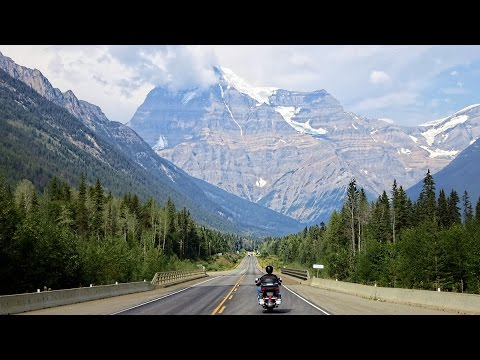 Motorcycle Ride from Seattle to Billings via Canadian Rocky Mountains