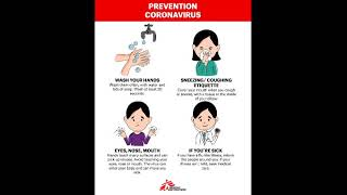 Prevention tips for COVID-19