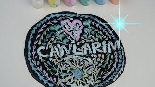 Tebeşirli Tahta Slime Challenge, Slime üzerine Çizim Deneme Trying Chalkboard Slime Bidünya Oyuncak