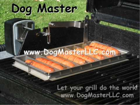 hot dog roller for grill