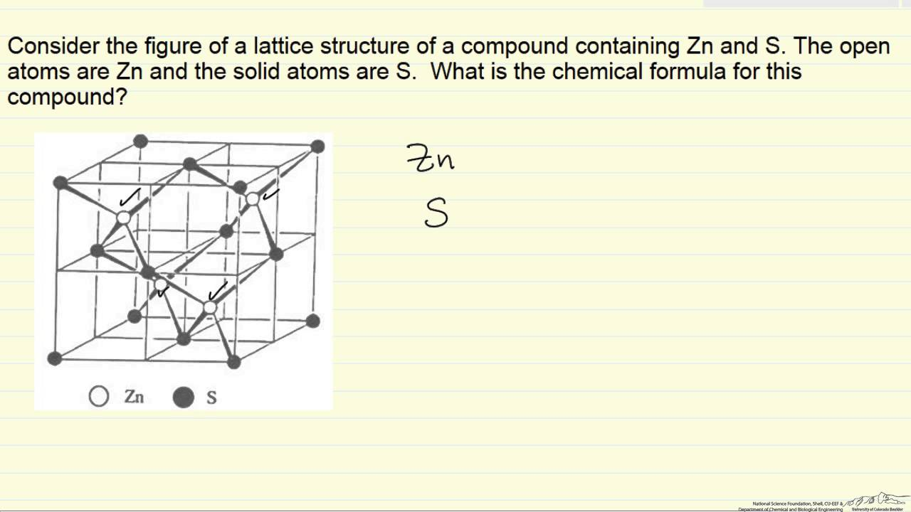 Chemical Formula From Structure Example Youtube