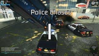 APB: Reloaded - Police Chase (Role Play... sort of...)