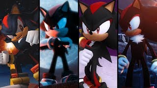 Evolution of Shadow the Hedgehog (2001 - 2018)