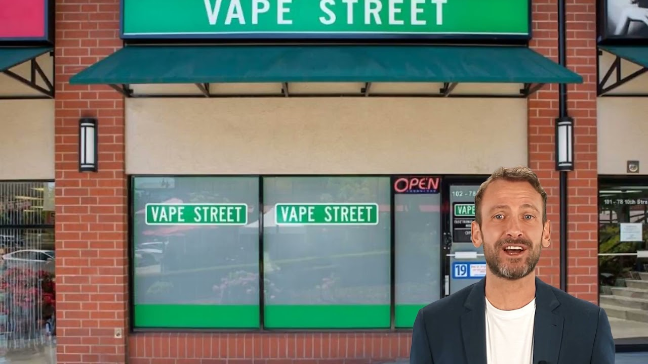 Vape Street Shop in New Westminster, BC
