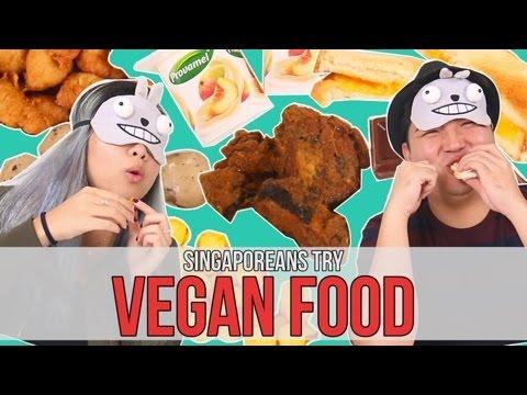 Singaporeans Try: Vegan Food Taste Test | EP 78