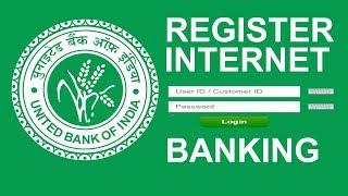 internet banking registration (UBI) in   BENGALI  