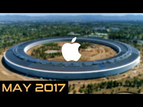 APPLE PARK (APPLE CAMPUS 2) 4K AERIAL TOUR -  MAY 2017