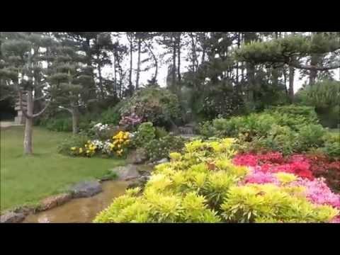 Japanischer Garten Im Nordpark Düsseldorf Youtube