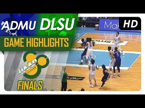 ADMU vs DLSU | Finals Game 2 Highlights | UAAP 80 Men's Basketball | November 29, 2017