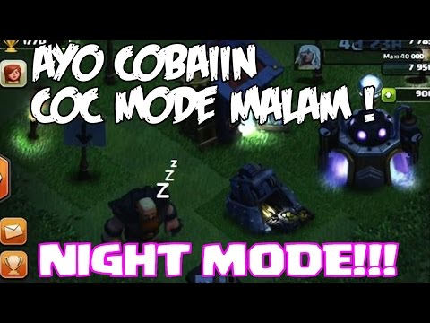Game Coc Mod Mode Malam