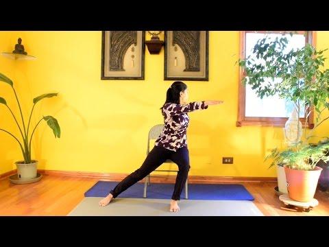 Chair Pilates for Core Strength with Vidya Nahar - Daily Pilates 28