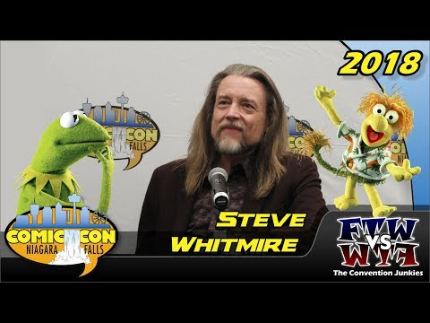 Steve Whitmire (The Muppets, Sesame Street, Fraggle Rock) Niagara Falls Comic Con 2018 Full Panel