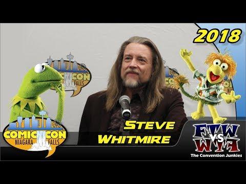 Steve Whitmire The Muppets, Sesame Street, Fraggle Rock Niagara Falls Comic Con 2018 Full Panel